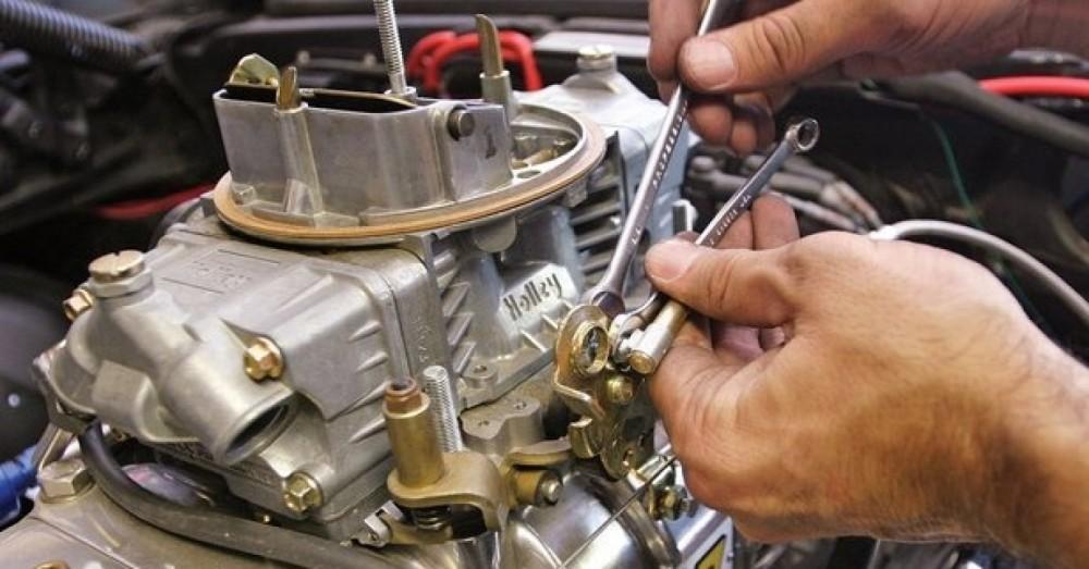 Работа двигателя на обогащенном топливе