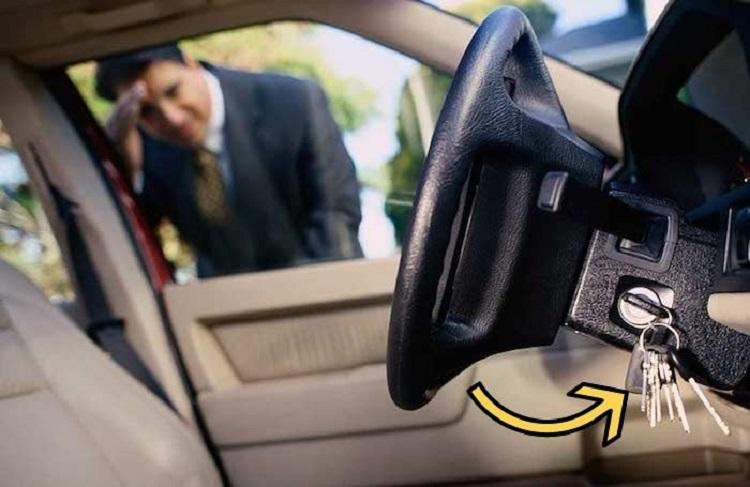 Ключи в машине