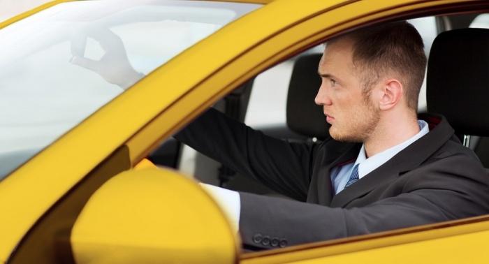 Водитель и зеркало