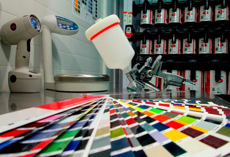 Тестирование краски для авто