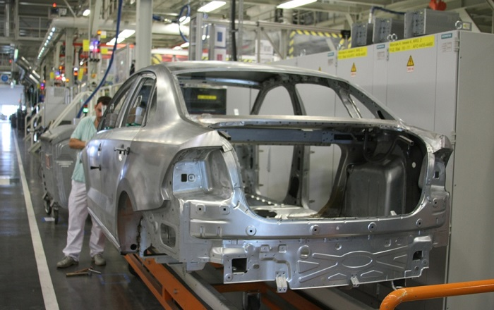Оцинковка кузова на заводе