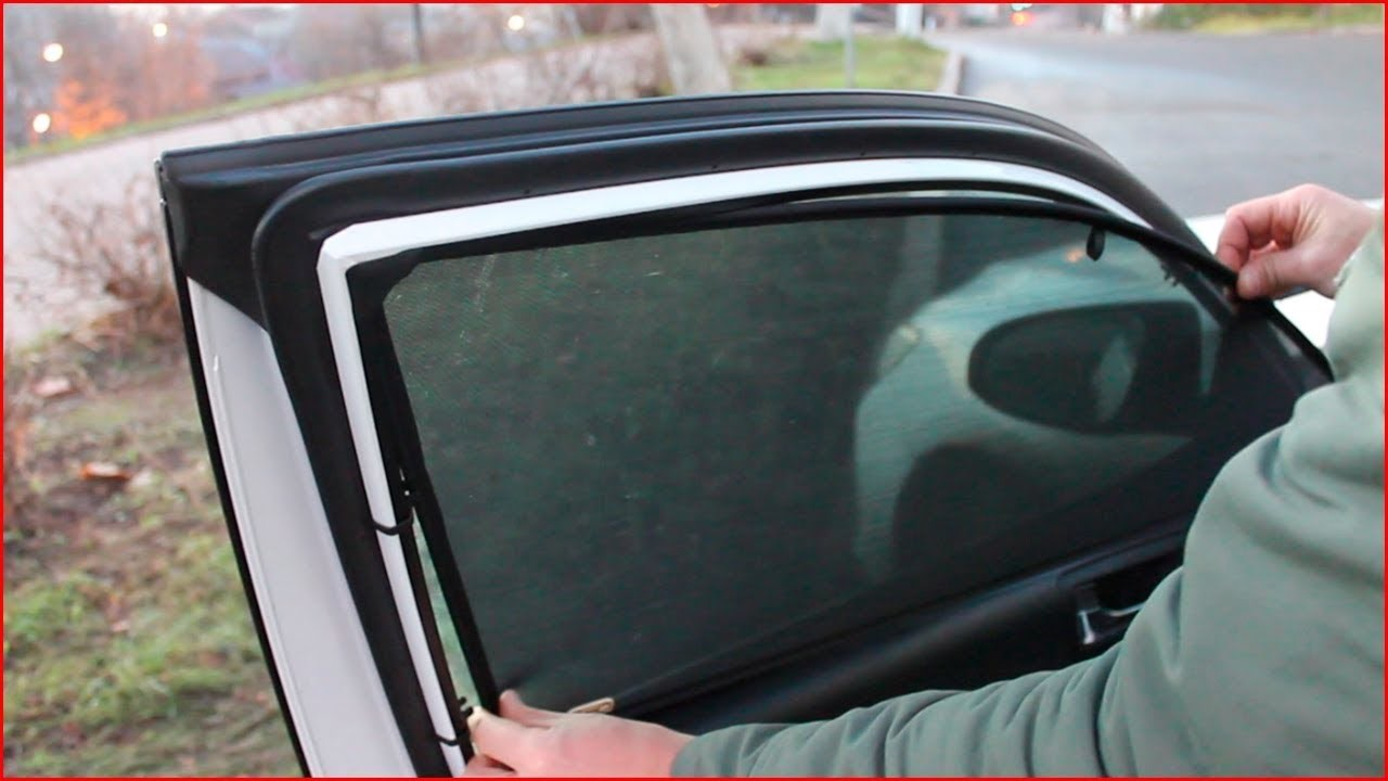 Каркасные сетки на окна авто