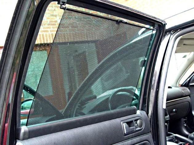 Рулонные шторки на авто