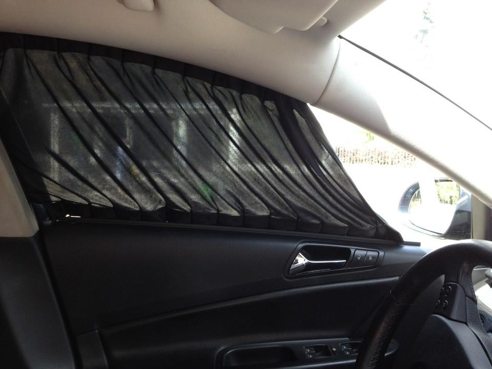 Тканевые шторки для машины