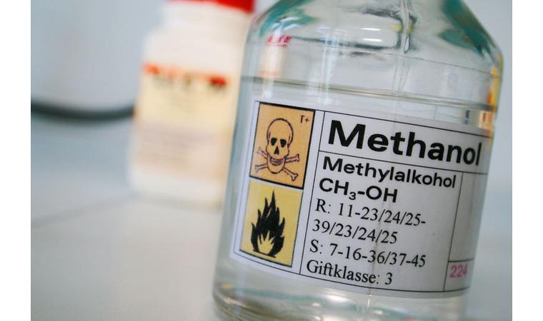 Флакон с метанолом
