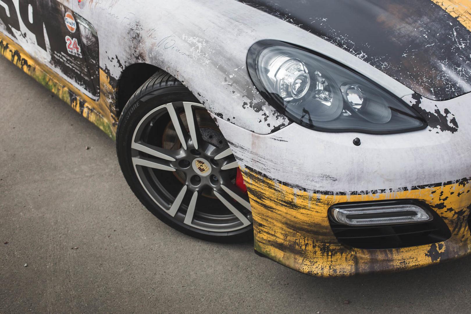 Дизайн авто под ржавчину