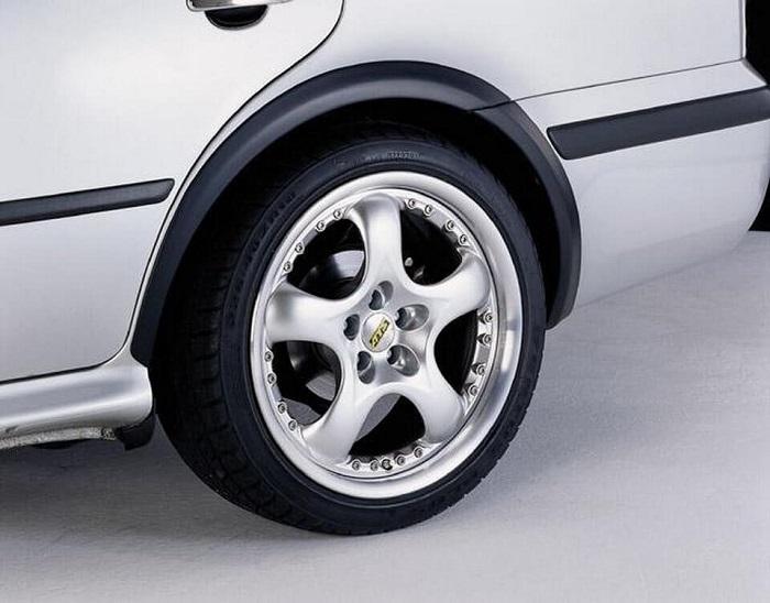 Накладки на колесные арки легкового авто