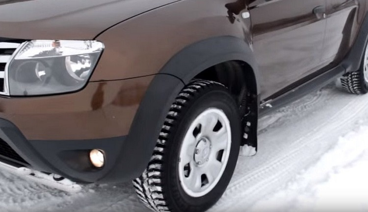 Накладки на колесные арки внедорожника