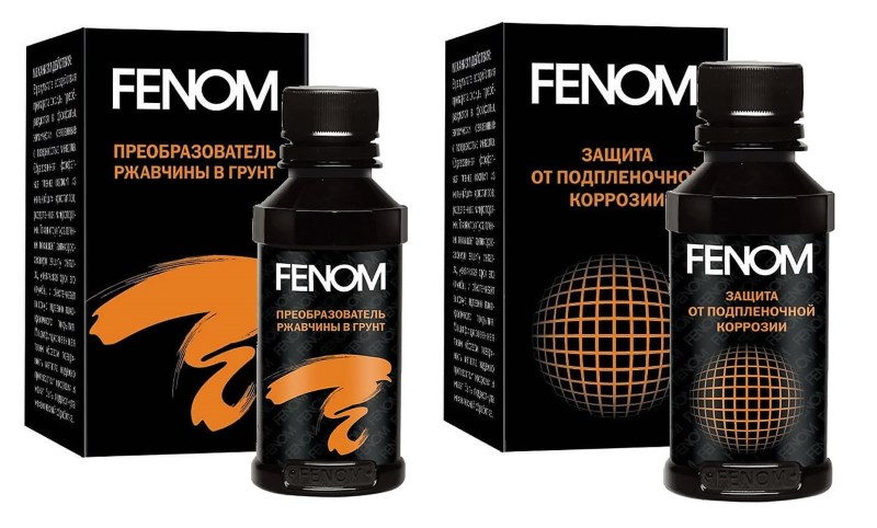 Преобразователь ржавчины Fenom