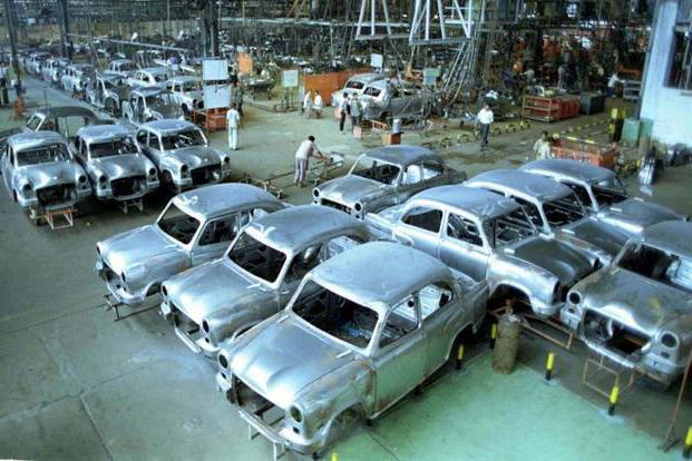 Обработка кузовов авто на производстве