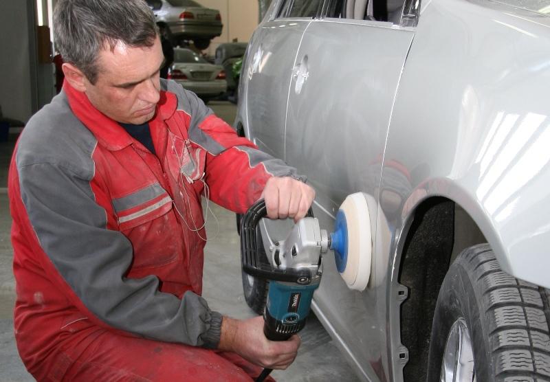 Шлифование кузова авто