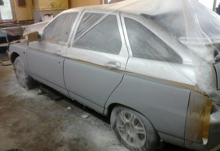 Подготовка авто к грунтованию