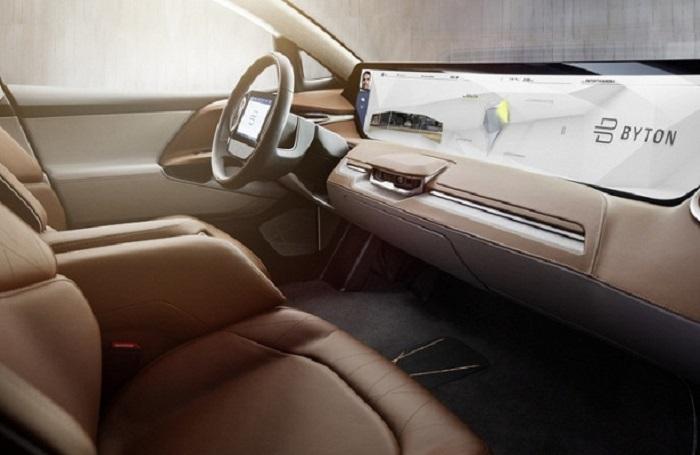 Большой LCD-экран в авто