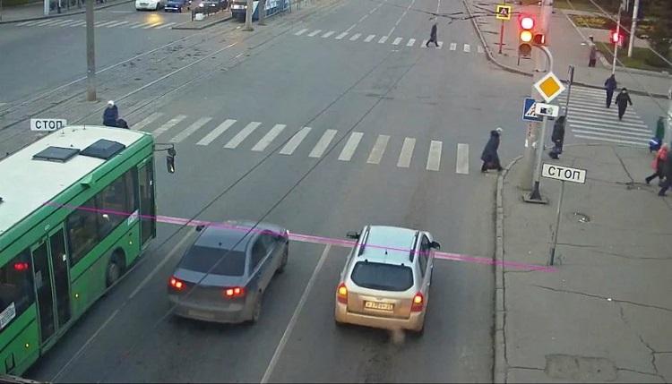 Фотофиксация авто перед стоп-линией