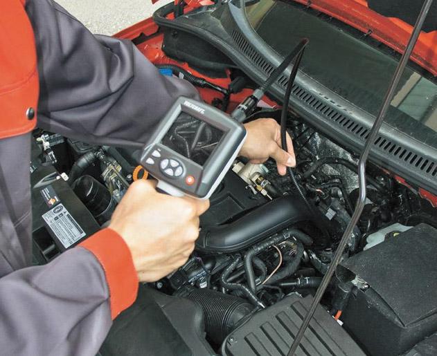 Проверка катализатора мотор-тестером