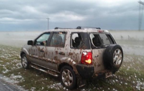 Авто в пятнах грязи