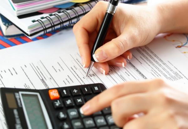 Калькулятор и заполнение документа