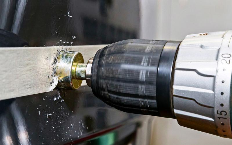 Просверливание бампера