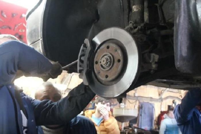 Проверка тормозного диска