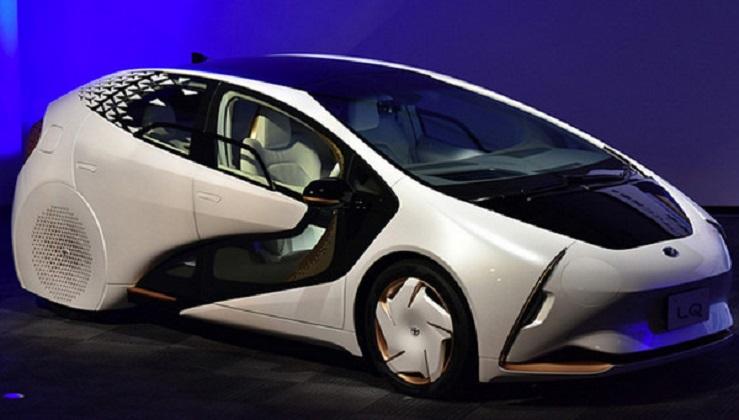 Электрокар Toyota LQ