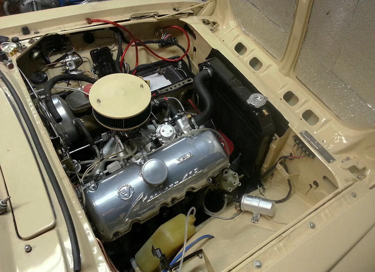 Новый двигатель Москвича 2140