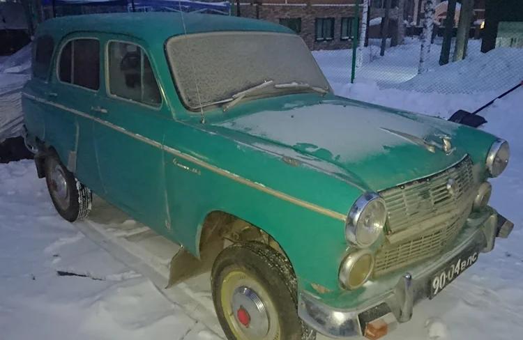 Зеленый Москвич-411