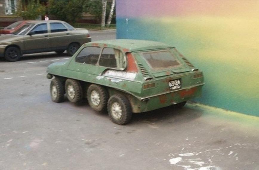 Восьмиколесный вездеход СССР