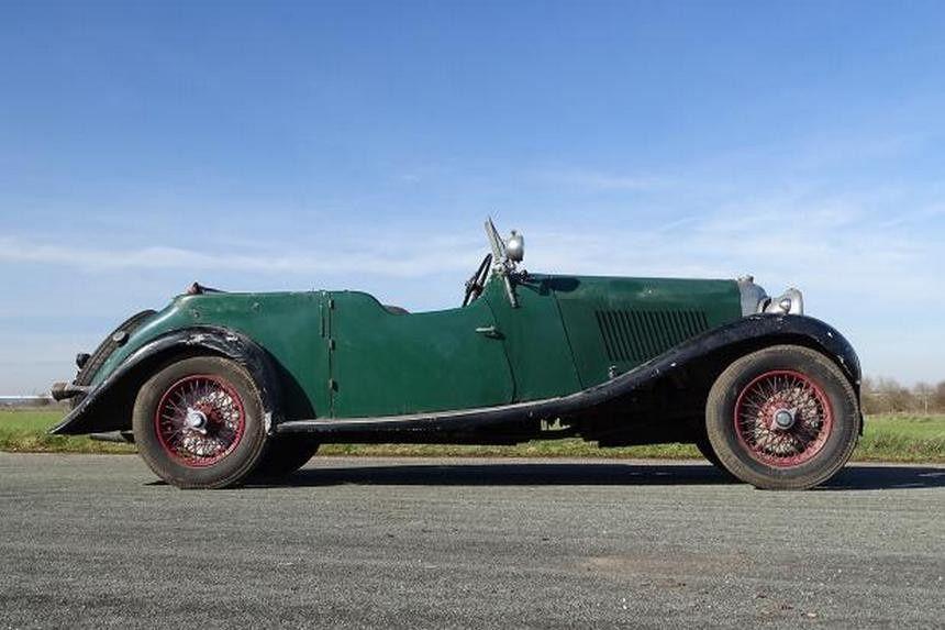 Bentley 4½ Litre 1936 года