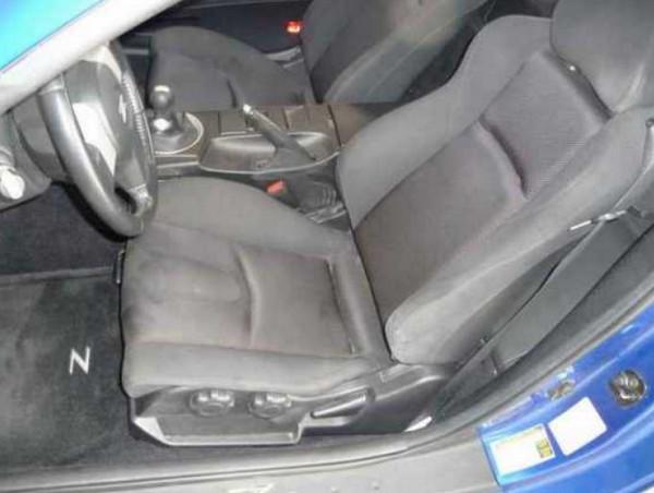 Передние сидения авто и руль