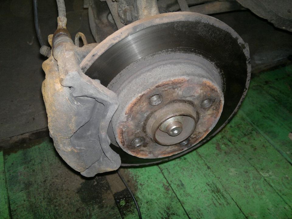 Ржавчина на тормозном диске