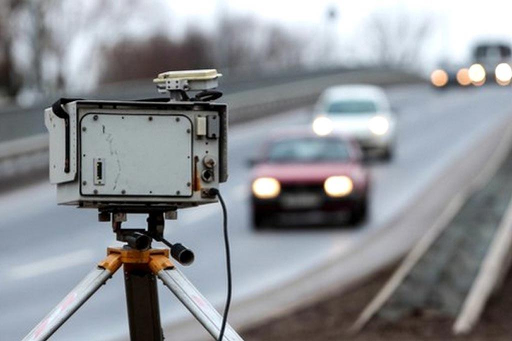 Камера возле трассы