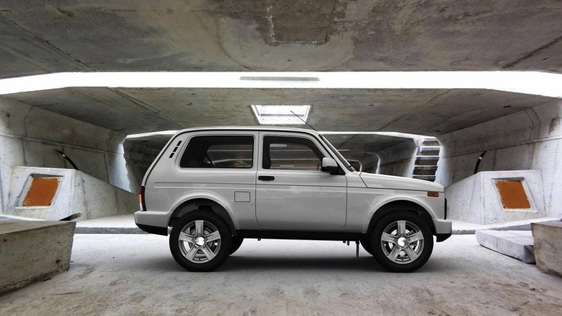 Автомобиль Нива 3