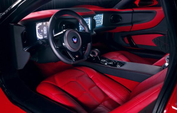 Салон Marussia B1