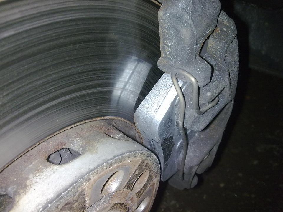 Тормозной диск и колодки