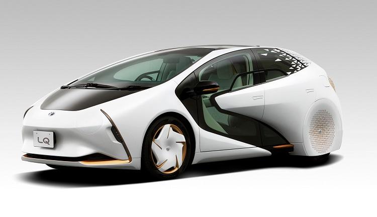 Toyota LQ с искусственным интеллектом