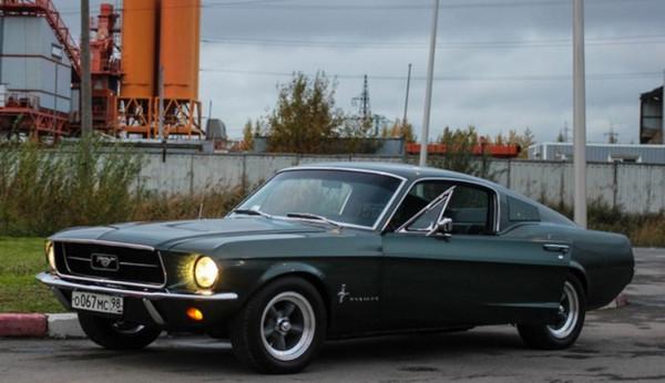 Восстановленный Ford Mustang