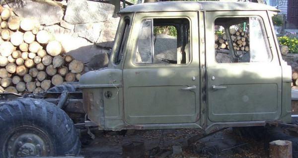 Старый ГАЗ-66