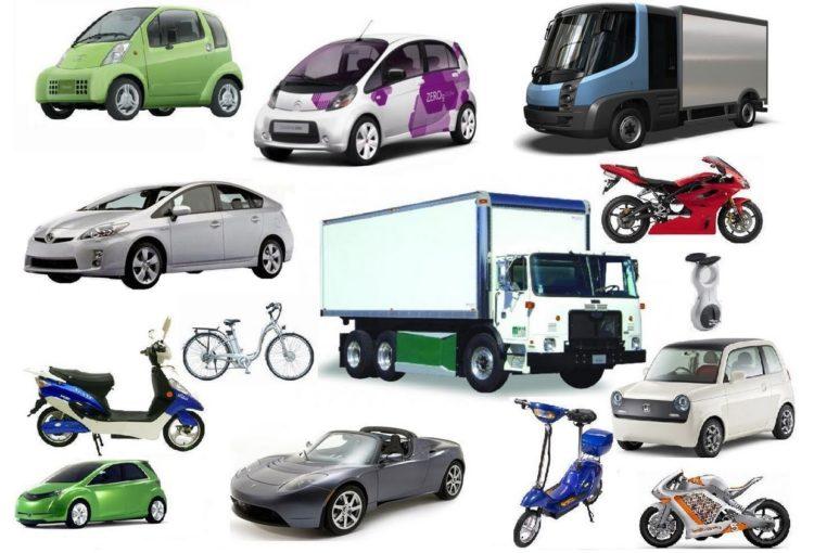 Виды городского транспорта