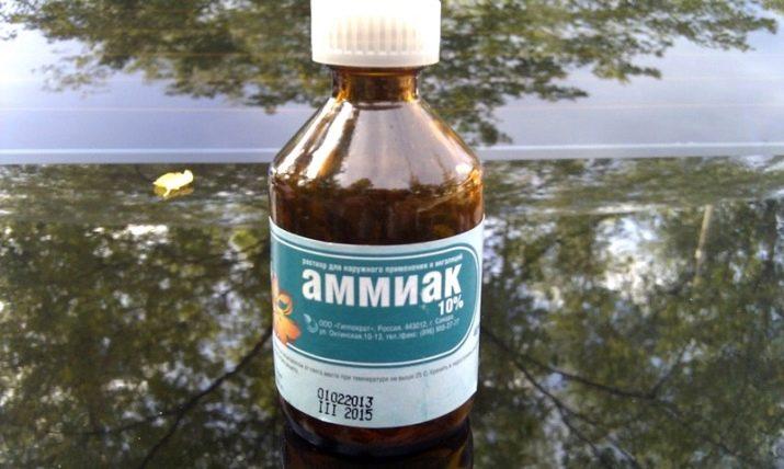 пузырек с аммиаком