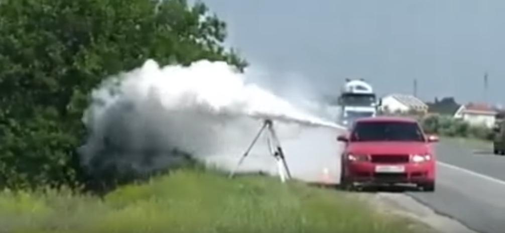 Огнетушитель по камере видеофиксации
