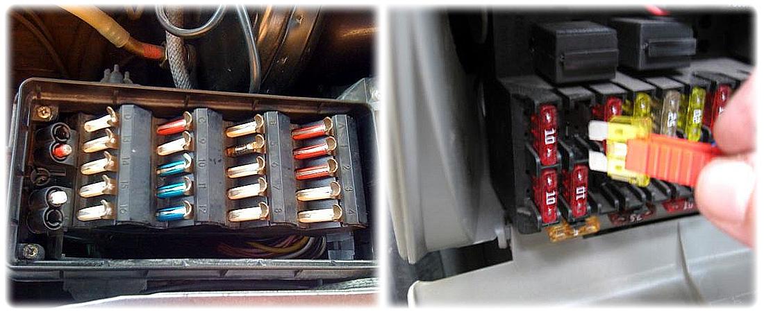 Предохранители электроприборов авто