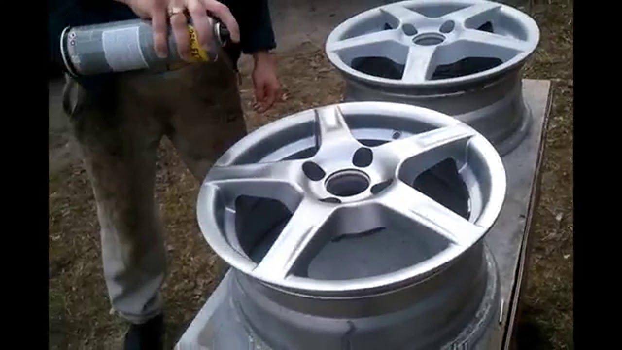 Окраска дисков авто распылителем