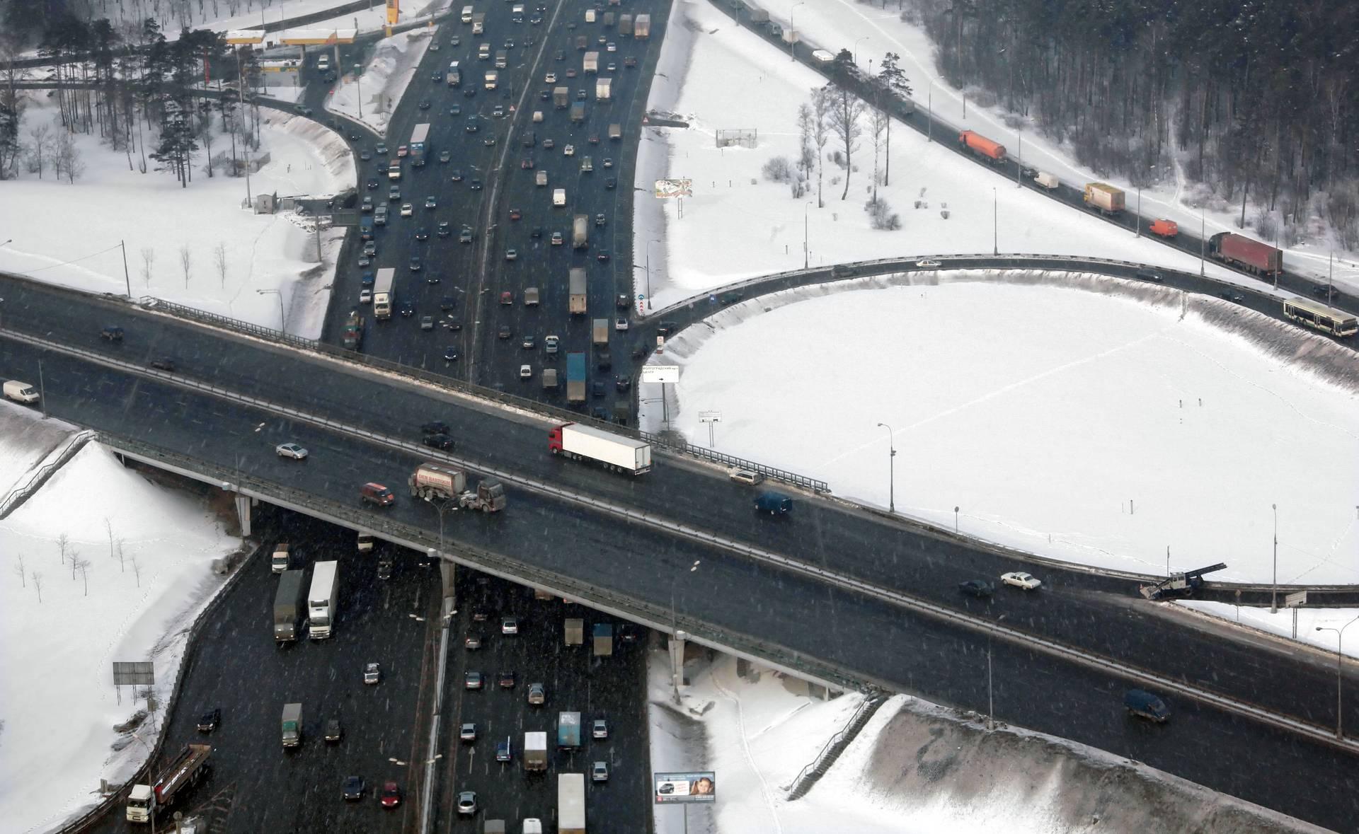 Ленинградское шоссе МКАД
