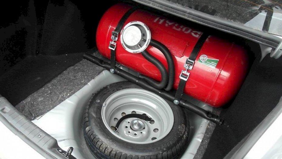 Газовый баллон в авто