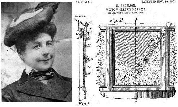 Мэри Андерсон и конструкция дворников