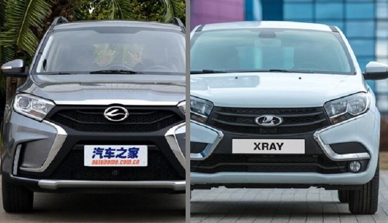 Лада XRAY и китайское авто