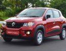 Красный Renault Kwid