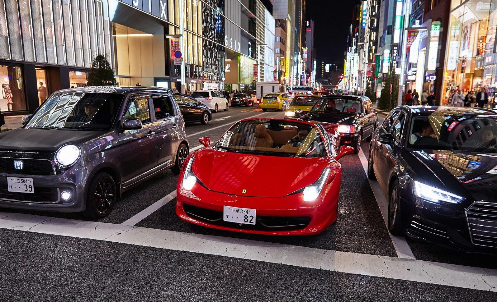 Какие машины предпочитают в Японии