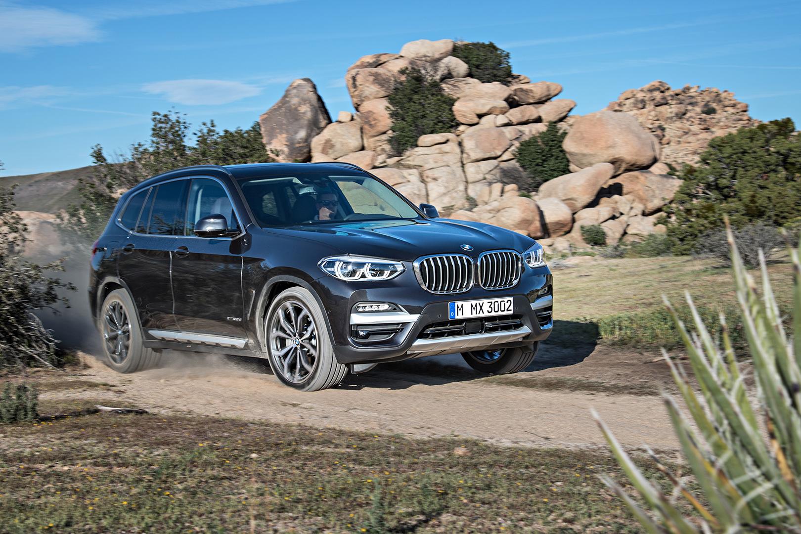 Черный BMW X3