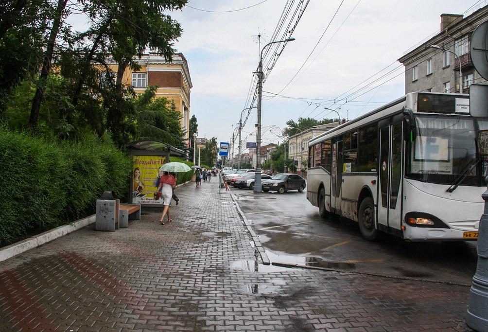 Автобус не заезжает в карман